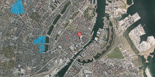 Oversvømmelsesrisiko fra vandløb på Østergade 19, 1. , 1100 København K
