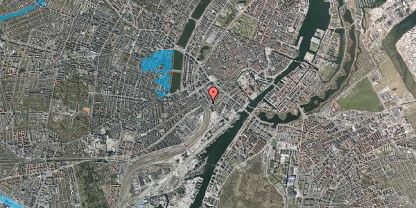 Oversvømmelsesrisiko fra vandløb på Bernstorffsgade 22, 3. , 1577 København V