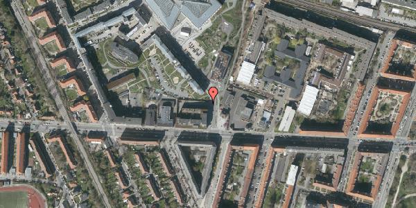 Oversvømmelsesrisiko fra vandløb på Dirch Passers Allé 1B, 2. , 2000 Frederiksberg