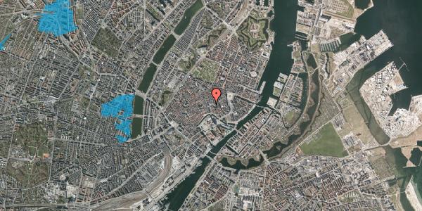 Oversvømmelsesrisiko fra vandløb på Østergade 58, 1100 København K