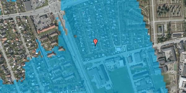 Oversvømmelsesrisiko fra vandløb på Hf. Svarø 18, 2650 Hvidovre