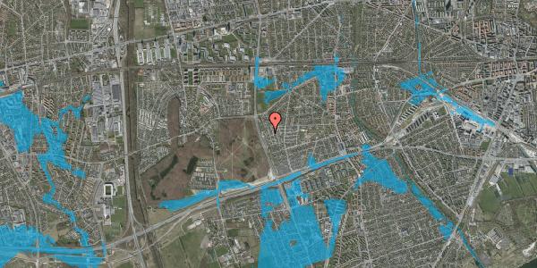 Oversvømmelsesrisiko fra vandløb på Skelkær 14, 2650 Hvidovre