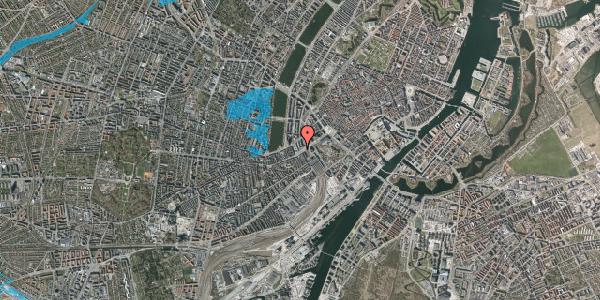 Oversvømmelsesrisiko fra vandløb på Meldahlsgade 2, 4. , 1613 København V