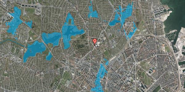 Oversvømmelsesrisiko fra vandløb på Tagensvej 239B, 2400 København NV