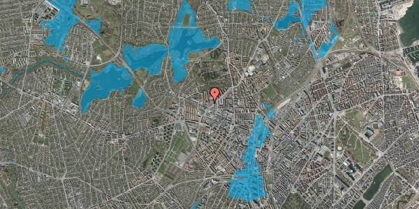 Oversvømmelsesrisiko fra vandløb på Birkedommervej 41, 2400 København NV