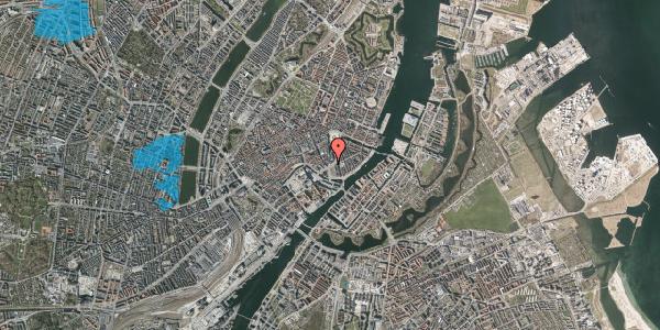 Oversvømmelsesrisiko fra vandløb på Holmens Kanal 16, st. , 1060 København K