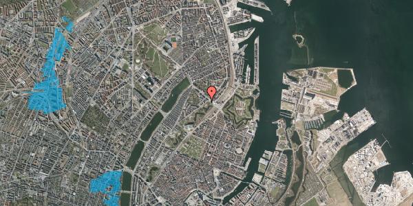 Oversvømmelsesrisiko fra vandløb på Stockholmsgade 60, 2100 København Ø