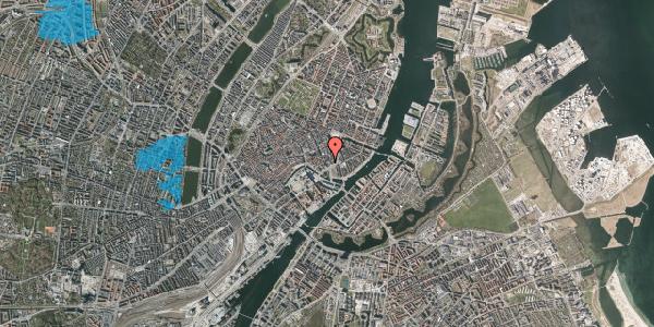 Oversvømmelsesrisiko fra vandløb på Bremerholm 33, 1. , 1069 København K