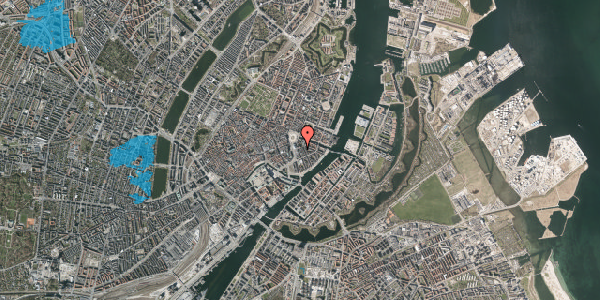 Oversvømmelsesrisiko fra vandløb på Tordenskjoldsgade 3, 3. 5, 1055 København K