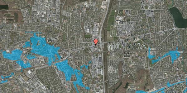 Oversvømmelsesrisiko fra vandløb på Hovedvejen 3, st. , 2600 Glostrup