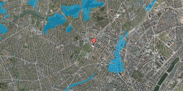Oversvømmelsesrisiko fra vandløb på Borups Allé 260, 2400 København NV