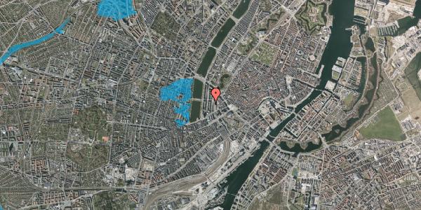 Oversvømmelsesrisiko fra vandløb på Vester Farimagsgade 19, 2. , 1606 København V