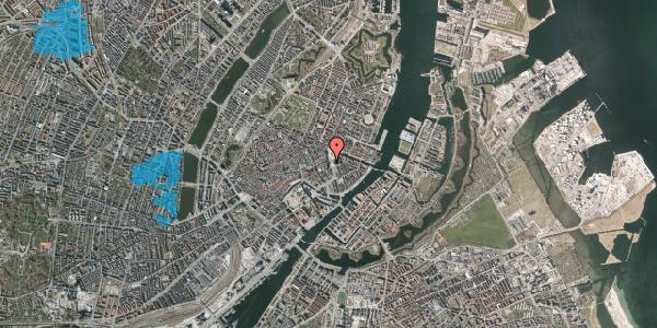 Oversvømmelsesrisiko fra vandløb på Kongens Nytorv 11, 1050 København K