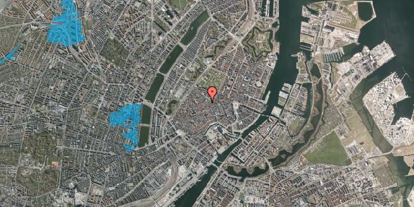 Oversvømmelsesrisiko fra vandløb på Købmagergade 46B, 2. , 1150 København K