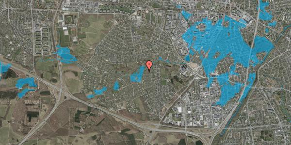 Oversvømmelsesrisiko fra vandløb på Vængedalen 827, 2600 Glostrup