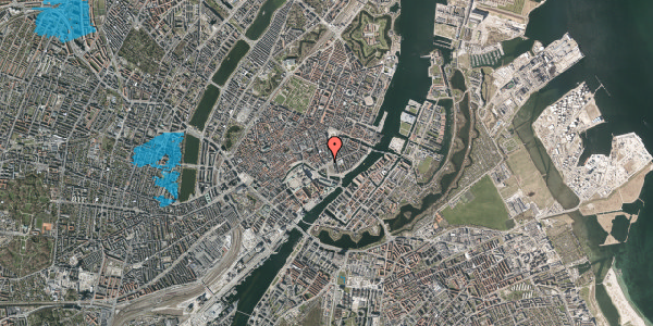 Oversvømmelsesrisiko fra vandløb på Holmens Kanal 18, 1060 København K