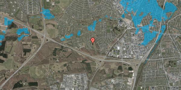 Oversvømmelsesrisiko fra vandløb på Kamillevænget 39, 2600 Glostrup
