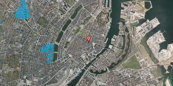 Oversvømmelsesrisiko fra vandløb på Sværtegade 9, 3. , 1118 København K