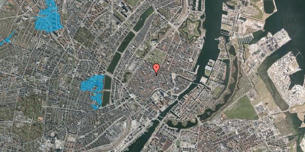 Oversvømmelsesrisiko fra vandløb på Købmagergade 41, 1. , 1150 København K