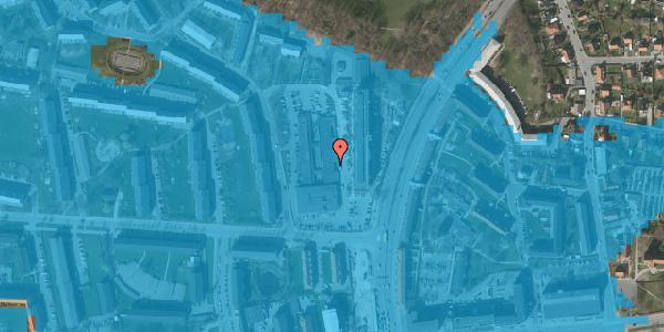 Oversvømmelsesrisiko fra vandløb på Diget 40, 2600 Glostrup