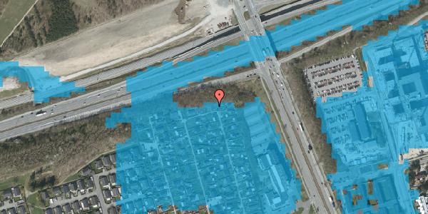 Oversvømmelsesrisiko fra vandløb på Hf. Kettehøj 107, 2650 Hvidovre