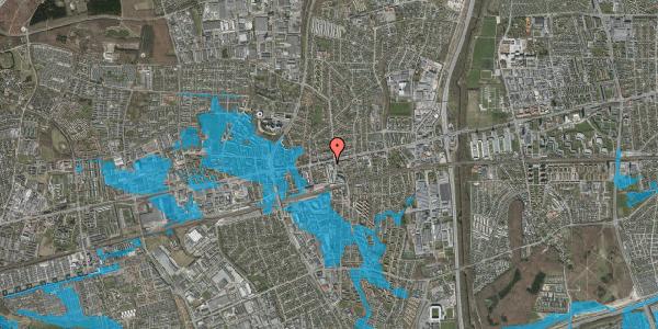 Oversvømmelsesrisiko fra vandløb på Glostrup Shoppingcenter 35, st. , 2600 Glostrup
