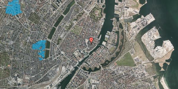 Oversvømmelsesrisiko fra vandløb på Tordenskjoldsgade 5, 3. 3, 1055 København K