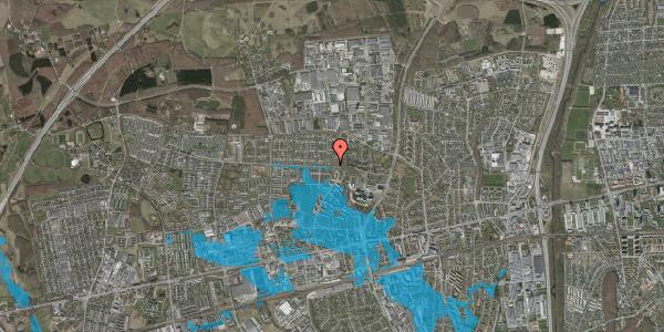 Oversvømmelsesrisiko fra vandløb på Haveforeningen Hersted 23, 2600 Glostrup
