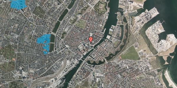 Oversvømmelsesrisiko fra vandløb på Holmens Kanal 21, 1060 København K