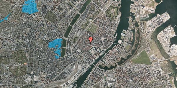 Oversvømmelsesrisiko fra vandløb på Klosterstræde 1, 1. , 1157 København K