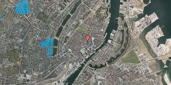 Oversvømmelsesrisiko fra vandløb på Østergade 54, 1100 København K