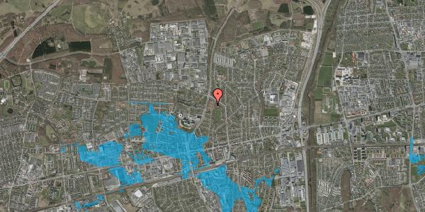 Oversvømmelsesrisiko fra vandløb på Solvangsvej 47, 2600 Glostrup