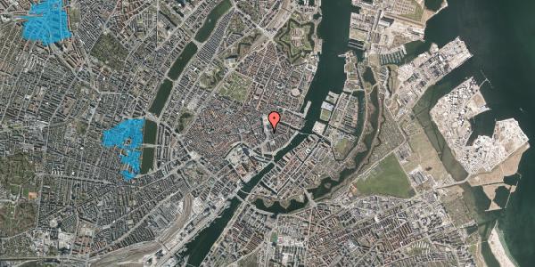 Oversvømmelsesrisiko fra vandløb på Holmens Kanal 3, st. , 1060 København K