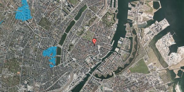 Oversvømmelsesrisiko fra vandløb på Gammel Mønt 9, st. , 1117 København K