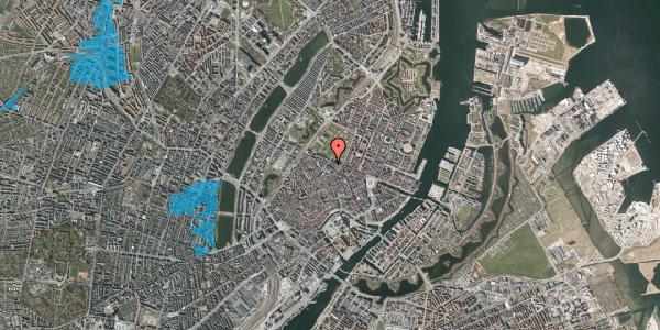 Oversvømmelsesrisiko fra vandløb på Vognmagergade 8B, 4. , 1120 København K