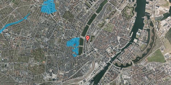 Oversvømmelsesrisiko fra vandløb på Nyropsgade 14, 1602 København V
