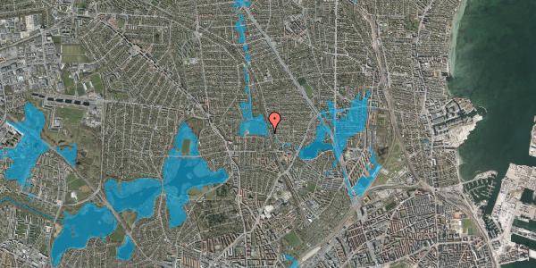 Oversvømmelsesrisiko fra vandløb på Rødhalsgangen 6, 2400 København NV
