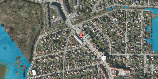 Oversvømmelsesrisiko fra vandløb på Frederiksborgvej 211B, 2400 København NV