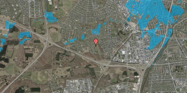 Oversvømmelsesrisiko fra vandløb på Kamillevænget 7, 2600 Glostrup