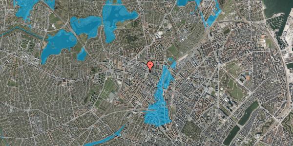 Oversvømmelsesrisiko fra vandløb på Glasvej 33, 4. , 2400 København NV