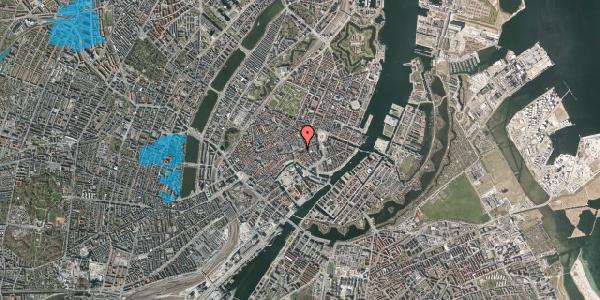 Oversvømmelsesrisiko fra vandløb på Nikolaj Plads 8, st. , 1067 København K