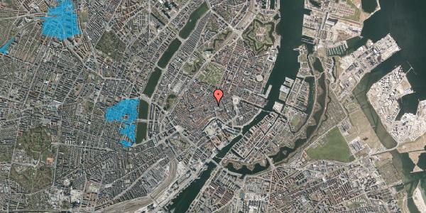 Oversvømmelsesrisiko fra vandløb på Købmagergade 11, 3. , 1150 København K