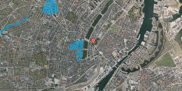 Oversvømmelsesrisiko fra vandløb på Dahlerupsgade 6, 1603 København V