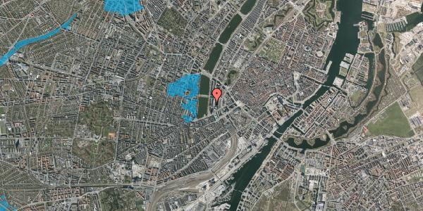 Oversvømmelsesrisiko fra vandløb på Herholdtsgade 6, 4. , 1605 København V