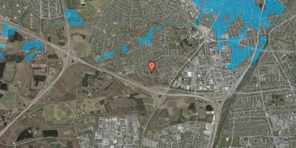 Oversvømmelsesrisiko fra vandløb på Karsevænget 53, 2600 Glostrup