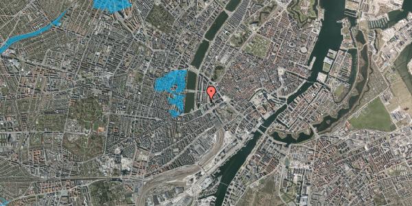 Oversvømmelsesrisiko fra vandløb på Ved Vesterport 2, 1612 København V