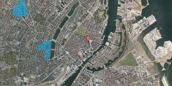 Oversvømmelsesrisiko fra vandløb på Østergade 26A, st. tv, 1100 København K