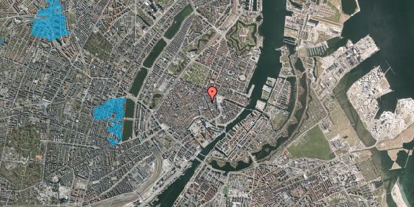Oversvømmelsesrisiko fra vandløb på Kristen Bernikows Gade 5, 1105 København K