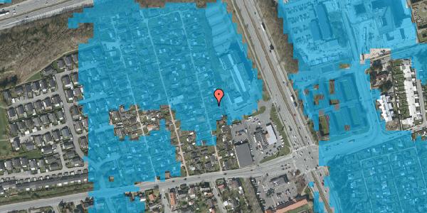 Oversvømmelsesrisiko fra vandløb på Hf. Kettehøj 121, 2650 Hvidovre