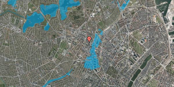 Oversvømmelsesrisiko fra vandløb på Blytækkervej 6, 1. 14, 2400 København NV